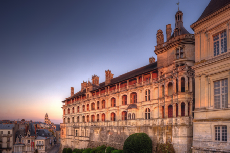 Royal castle at Blois